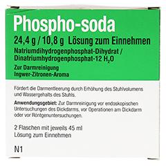 PHOSPHO-soda 24,4 g/10,8 g Lösung zum Einnehmen 2x45 Milliliter N1 - Vorderseite