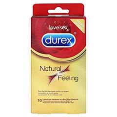 DUREX Natural Feeling Kondome 10 Stück - Vorderseite