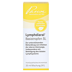 LYMPHDIARAL BASISTROPFEN SL 20 Milliliter N1 - Vorderseite