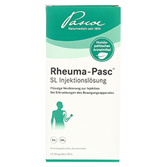 RHEUMA PASC SL Injektionslösung 10x2 Milliliter N1 - Vorderseite