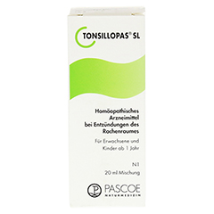 TONSILLOPAS SL Tropfen 20 Milliliter N1 - Vorderseite