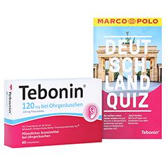 Tebonin 120mg bei Ohrgeräuschen + gratis Tebonin Marco Polo Reiseführer 60 Stück N2