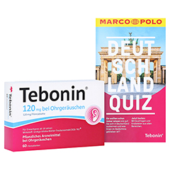 Tebonin 120mg bei Ohrgeräuschen + gratis Tebonin Marco Polo Reiseführer