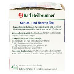 Bad Heilbrunner Schlaf- und Nerven Tee 8 Stück - Linke Seite