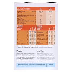 MERITENE Kraft und Vitalität Schokolade Pulver 15x30 Gramm - Linke Seite