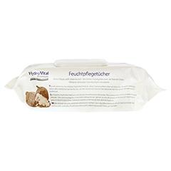 HYDROVITAL Feuchtpflegetücher mit Shea 80 Stück - Rechte Seite