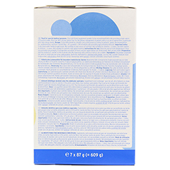 CALSHAKE Vanille Beutel Pulver 7x87 Gramm - Rechte Seite