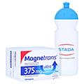 Magnetrans 375 mg ultra Kapseln + gratis Stada Trinkflasche 100 Stück