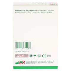 CURAPOR Wundverband steril chirurgisch 5x7 cm 50 Stück - Rückseite