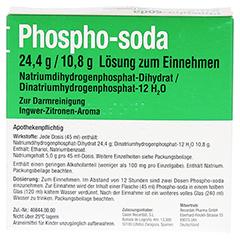 PHOSPHO-soda 24,4 g/10,8 g Lösung zum Einnehmen 2x45 Milliliter N1 - Rückseite