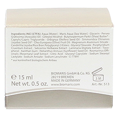BIOMARIS super rich eye cream 15 Milliliter - Rückseite
