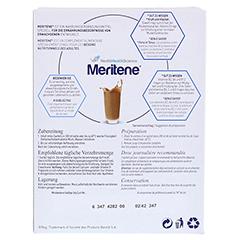 MERITENE Kraft und Vitalität Kaffee Pulver 15x30 Gramm - Rückseite