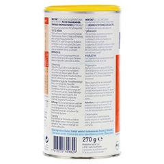 MERITENE Kraft und Vitalität Vanille Pulver 12x270 Gramm - Rückseite