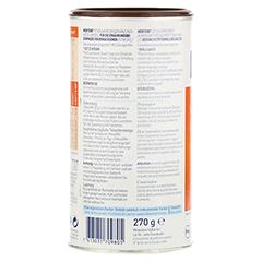 MERITENE Kraft und Vitalität Schokolade Pulver 12x270 Gramm - Rückseite