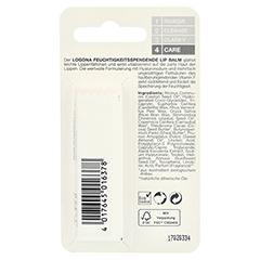 LOGONA Feuchtigkeitsspendender Lip Balm 4.5 Gramm - Rückseite