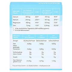 BASENTABS pH Balance Pascoe Tabletten 100 Stück - Rückseite