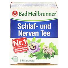 Bad Heilbrunner Schlaf- und Nerven Tee 8 Stück - Oberseite