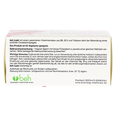 BEH Lipid Kapseln 90 Stück - Oberseite