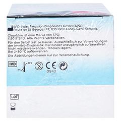 CLEARBLUE Fertilitätsmonitor Advanced Teststäbchen 20+4 24 Stück - Unterseite
