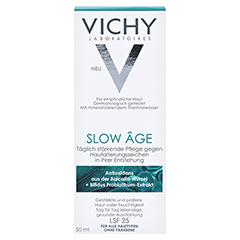 Vichy SLOW AGE Fluid + gratis Vichy Maske porenverfeinernd 50 Milliliter - Vorderseite