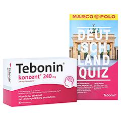 Tebonin konzent 240mg + gratis Tebonin Marco Polo Reiseführer 80 Stück