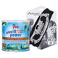 FOR YOU eiweiß power Milchkaffee Pulver + gratis Multifunktionstuch 750 Gramm