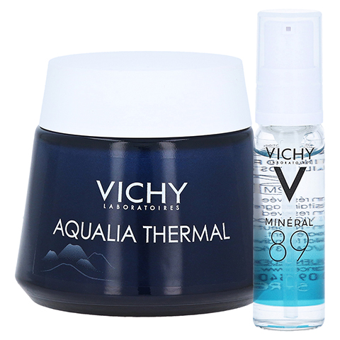 VICHY AQUALIA Thermal Nacht Spa + gratis Vichy Mineral 89 Mini 10 ml 75 Milliliter