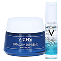 VICHY LIFTACTIV Nachtcreme + gratis Vichy Mineral 89 Mini 10 ml 50 Milliliter