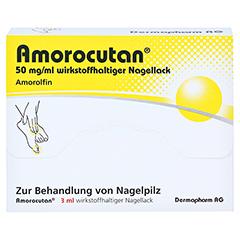 "Amorocutan 50mg/ml + gratis Dermapharm Fuß-Badetabs ""Limette"" 3 Milliliter N1 - Vorderseite"