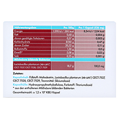 SYMBIOLACT Cholesterin Control Kapseln 90 Stück - Rückseite