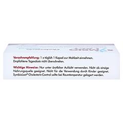 SYMBIOLACT Cholesterin Control Kapseln 90 Stück - Oberseite