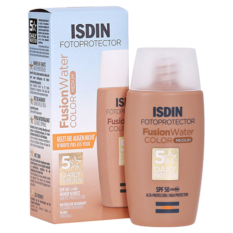 ISDIN Fotoprotector Fusion Water Color Emul.SPF 50 50 Milliliter