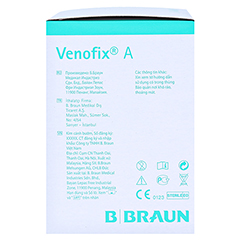 VENOFIX A Venenpunktionsbest.21 G 0,8 mm grün 50 Stück - Linke Seite