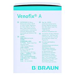 VENOFIX A Venenpunktionsbest.21 G 0,8 mm grün 50 Stück - Rechte Seite