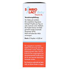 SYMBIOLACT Baby Vitamin D3 Tropfen 8 Milliliter - Rückseite