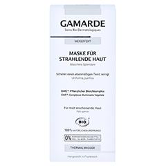 GAMARDE Maske f.strahlende Haut 40 Milliliter - Vorderseite