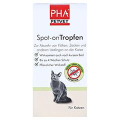PHA Spot-on Tropfen f.Katzen 2x1.5 Milliliter - Vorderseite