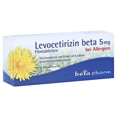 Levocetirizin beta 5mg 50 Stück N2