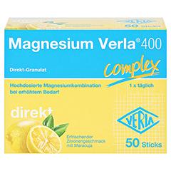 MAGNESIUM VERLA 400 Direkt-Granulat 50 Stück - Vorderseite