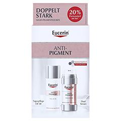 EUCERIN Anti-Pigment Set Dual Serum+Tagespflege 1 Packung - Vorderseite