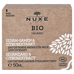 NUXE Bio entgiftende Maske für neue Leuchtkraft 50 Milliliter - Vorderseite