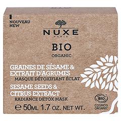 NUXE Bio entgiftende Maske für neue Leuchtkraft 50 Milliliter - Rückseite