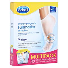 SCHOLL intensiv pflegende Fußmaske in Socken 3x2 Stück