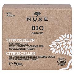 NUXE Bio reichhaltige Feuchtigkeitscreme 50 Milliliter - Vorderseite