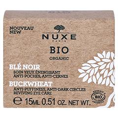NUXE Bio Augenpflege gegen Tränens.und Aug. 15 Milliliter - Rückseite