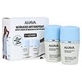 AHAVA Mineral Roll-on Deodorant women Duo 2x50 Milliliter