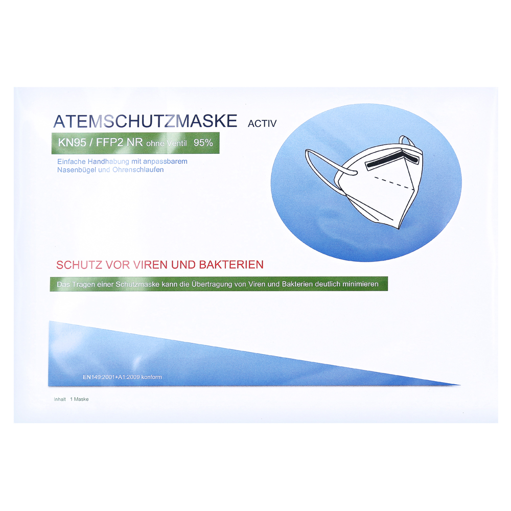 ATEMSCHUTZMASKE ACTIV FFP2 NR KN95 ohne Ventil 1 Stück ...