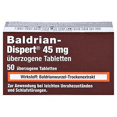 Baldrian-Dispert 45mg 50 Stück - Vorderseite