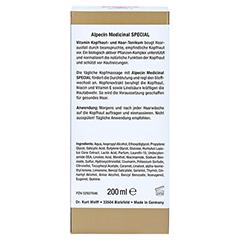 Alpecin Medicinal Special Vitamin Kopfhaut- und Haar-Tonikum 200 Milliliter - Rückseite