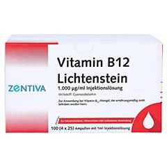 Vitamin B12 1.000 µg Lichtenstein Ampullen 100x1 Milliliter - Vorderseite